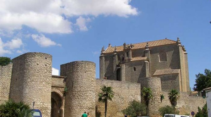 Almocabar gate in Ronda