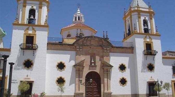 The church of muestra Señora del Socorro in Ronda