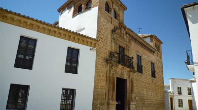 The Mondragon museum in Ronda