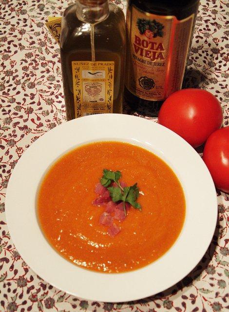 Traditional Spanish Gazpacho Recipe   Ronda, the City of
