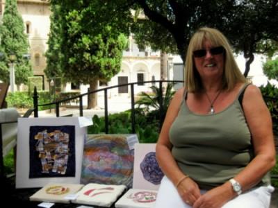 Pauline Emmens, Fabric Artist