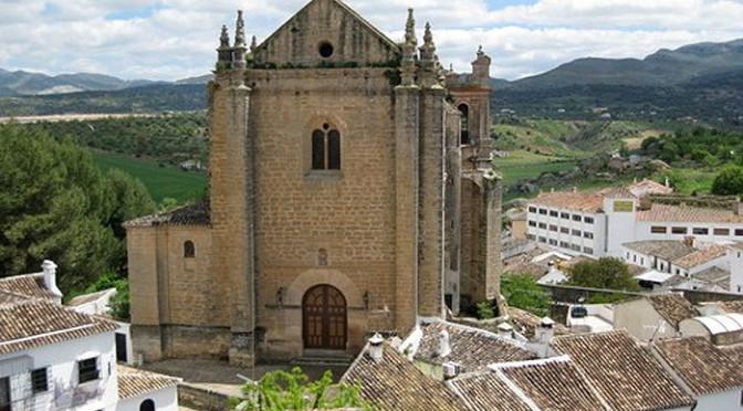 Espiritu Santo church in Ronda