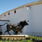 The bullring or plaza de toros in Ronda, Andalucia
