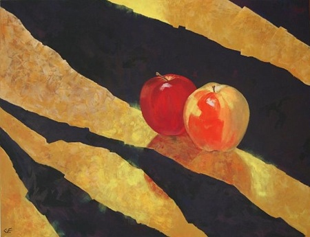 Christine Ellingham Acrylic and Watercolour Artist from Benaojan