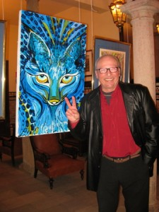 Udo with Blue Lynx