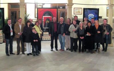 Udo Burkhardt Exhibtion at Circulo de Artistas, Ronda