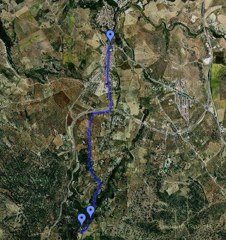 Ronda Walk Pilar de Cartajima