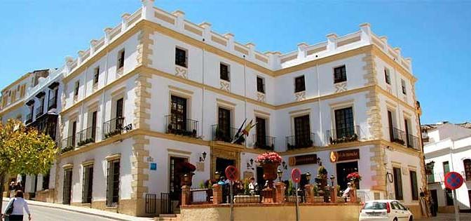 Hotel el Poeta in Ronda, Andalucia