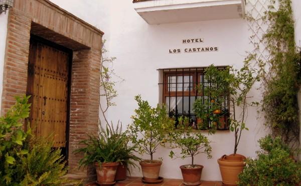 Hotel Los Castanos at Cartajima, Genal Valley **