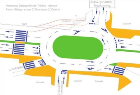 Ronda to Get Several New Traffic Roundabouts