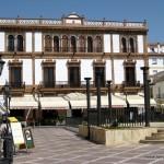 Plaza del Socorro Before the Remodel in 2019