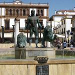 Andalusia, Plaza del Socorro and Blas Infante