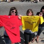 Three Fans of La Vuelta