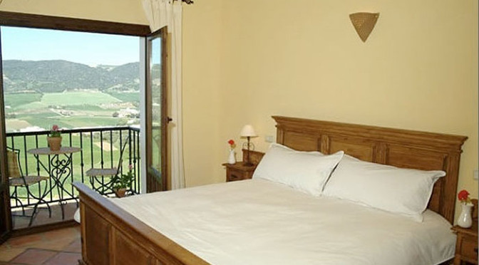 Hotel arriadh close to Ronda in Spain