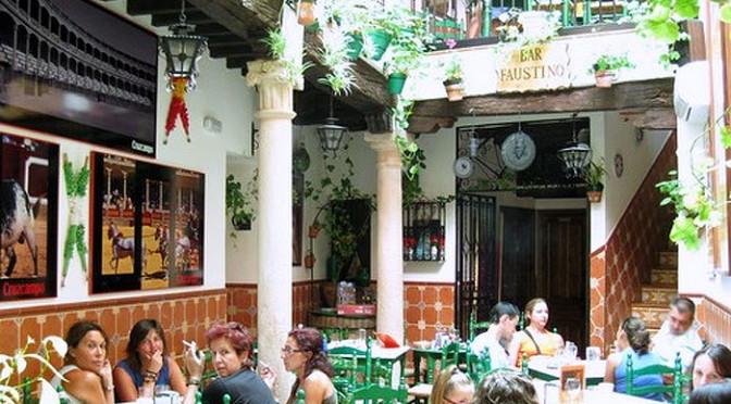 Café Bar Faustino, Calle Santa Cecilia €€