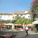 Marbella, Spain, plaza naranjos