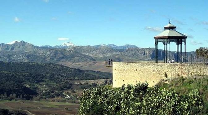Alameda y balcon del coño, Ronda