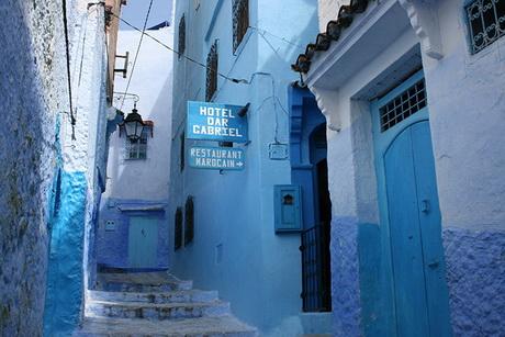 Dar Gabriel Riad Hotel in Chefchaouen, Morocco