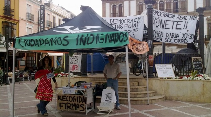 Youth Protests in Ronda