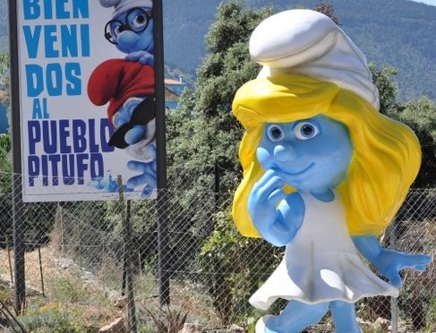 Global Launch of Smurf Film in Juzcar