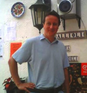 David Cameron, British Prime Minister Holidays near Ronda