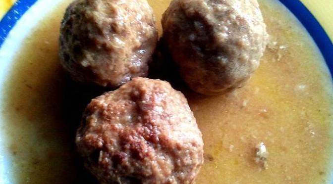 "Albóndigas Claras (""Pale"" Meatballs)"