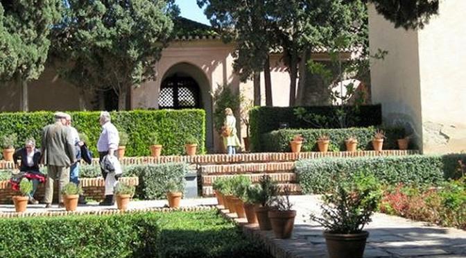 Alcazaba fortress in Malaga