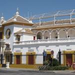The bullring in Seville