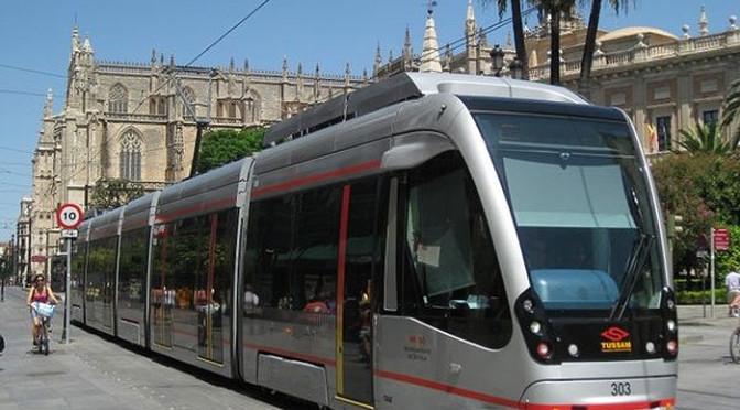 Trams in Sevilla