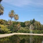 Concepcion botanical gardens in Malaga