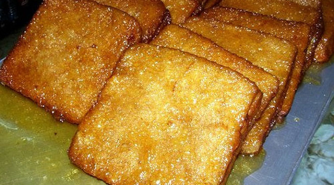 Recipe for Torrijas, an Easter Treat in Spain