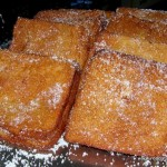 Torrijas with Sugar