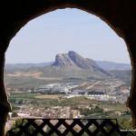 View of Peña de los Enamorados