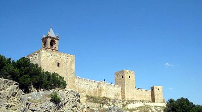 Antequera fortress or Alcazaba