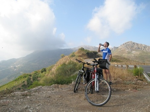 Cycling from Ronda and around the Serrania