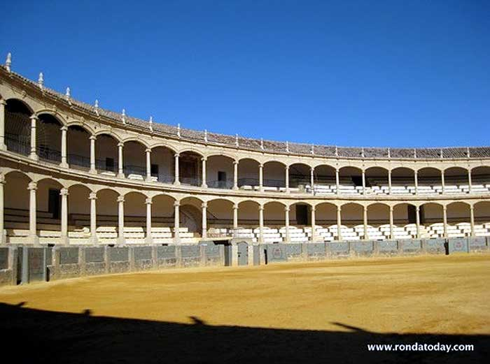 The Plaza De Toros Bullring In Ronda