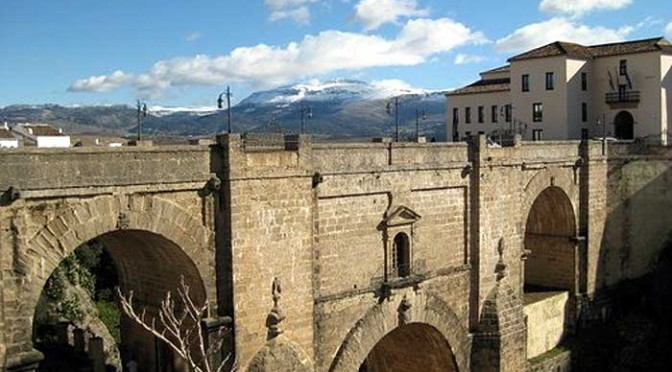 The famous new bridge in Ronda
