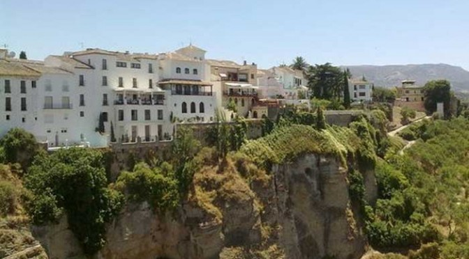 The Andalusian city of Ronda in Spain