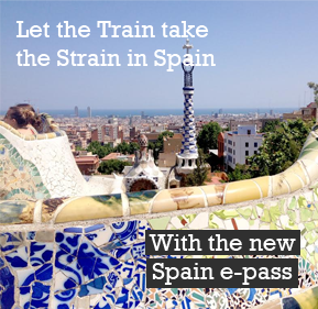 Renfe e-pass for Spain