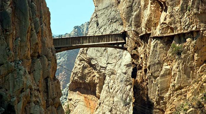 The Camino del Rey, El Chorro and Guadalhorce Reservoirs