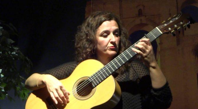 Morales plays Flamenco guitar