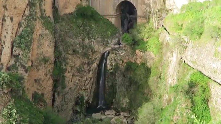 Ronda waterfall
