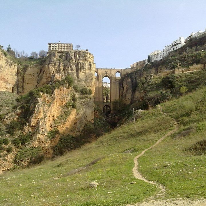 Ronda new bridge from below