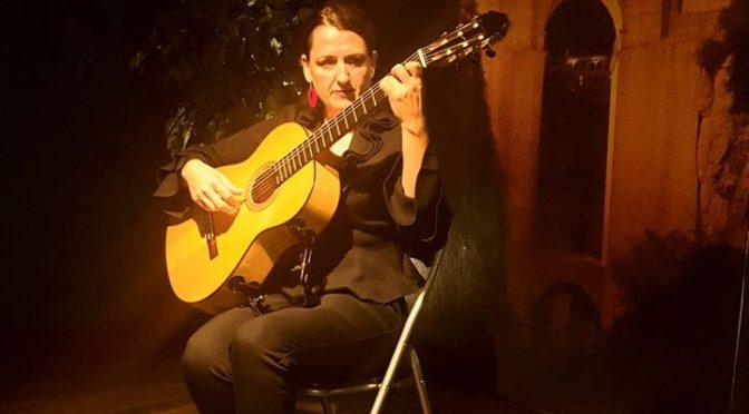 """Flamenco Guitar Show"""" by Celia Morales"""