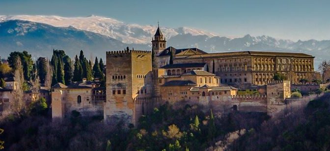 Did you know that we are visiting  #Granada and the Alhambra on the 15th of July…