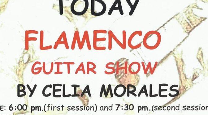 TODAY Flamenco Guitar SHOW