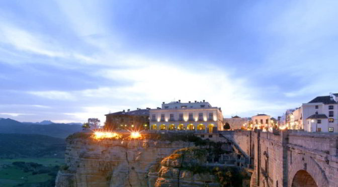 Christmas holiday at Parador Ronda, Spain