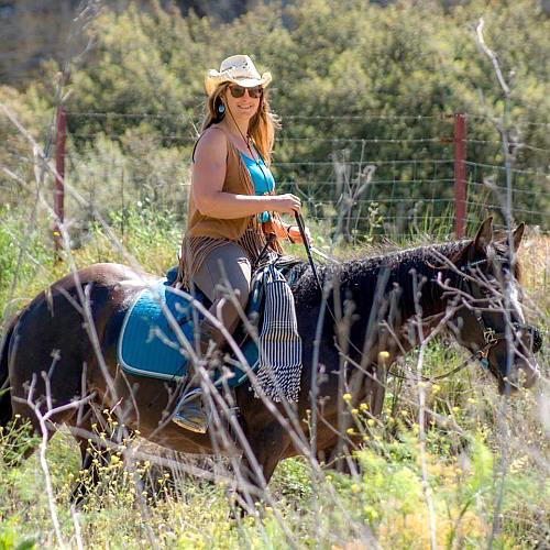 Horse riding in Ronda