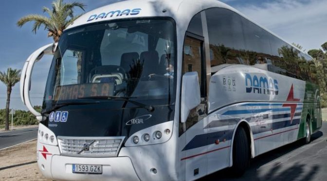 damas bus service to ronda