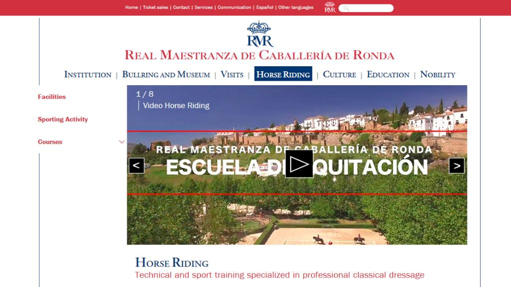 Riding School of the Real Maestranza de Caballería of Ronda
